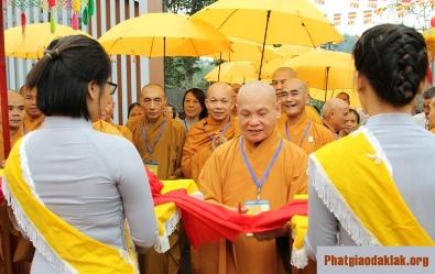 Đăk Lăk: Khánh thành trung tâm dưỡng lão chùa Phổ Minh