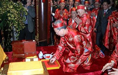 Nam Định: Lễ hội Khai ấn đền Trần năm 2015