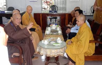 NINH THUẬN – Ban Trị Sự đón tiếp phái đoàn Phật giáo Đài Loan