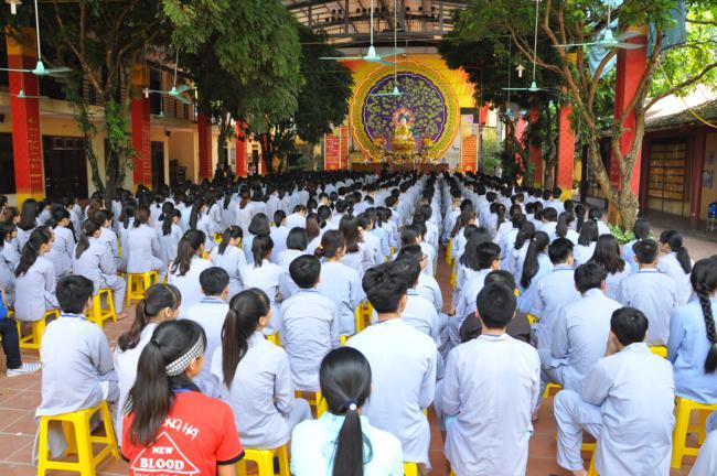 Hà Nội: Chùa Bằng khai mạc khóa tu mùa hè thứ VI - 2016