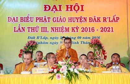 Đăk Nông: Đại Hội Đại Biểu Phật Giáo Huyện Đăk R