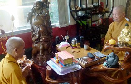 """Ninh Thuận: Ban Kiến đàn Đại Giới đàn """"ĐỨC TẠNG"""" cung thỉnh Hội đồng thập sư truyền giới"""
