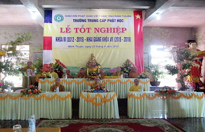 Ninh Thuận: Trường TCPH tổ chức lễ tốt nghiệp khóa VI  và khai giảng khóa VII