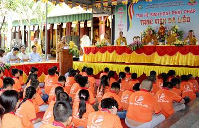 Hà Tĩnh: Khai mạc khóa mùa hè 2015 tại chùa Trúc Lâm Đà Liễu