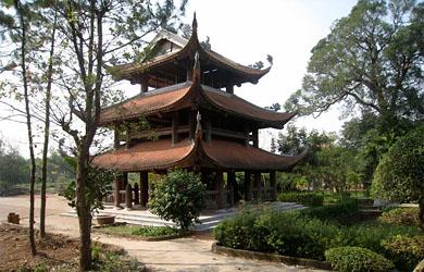 Cảnh đẹp chùa Nôm - Linh Thông cổ tự ở Hưng Yên