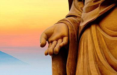 Những hình ảnh đẹp về bàn tay của Đức Phật