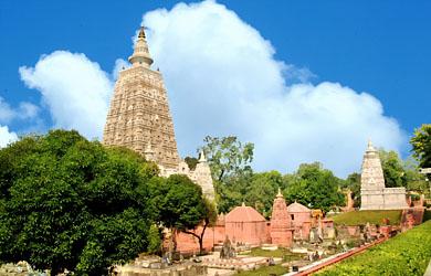 Màu sắc của lá cờ Phật giáo và ngôi đền Ratanaghara