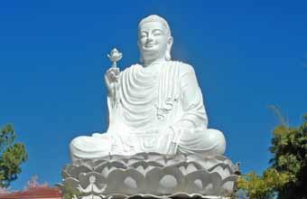 Hình tượng Đức Phật tay cầm hoa sen: Niêm hoa vi tiếu