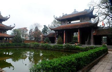 Chùa Nôm - huyện Văn Lâm, Hưng Yên trên 100 pho tượng đất cổ