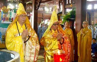 Đăklăk: Lễ Hiệp Kỵ tại Chùa Sắc Tứ Khải Đoan