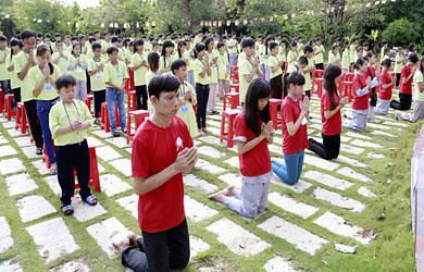 Đồng Tháp: Khóa tu mùa hè lần 4/2014 tại Chùa Quê Hương