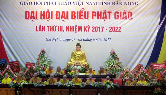 Đăk Nông: Đại Hội Đại Biểu Phật Giáo Tỉnh lần thứ 3 - 2017 - 2022