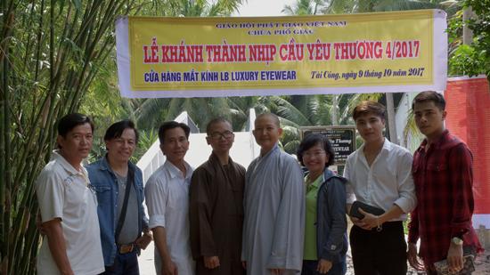 Sóc Trăng: Khánh thành cây cầu tại ấp Tài Công