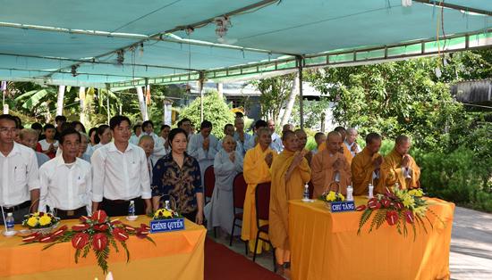 Bến Tre: Mõ Cày Nam, lễ bổ nhiệm Ban quản trị chùa Phước Quang