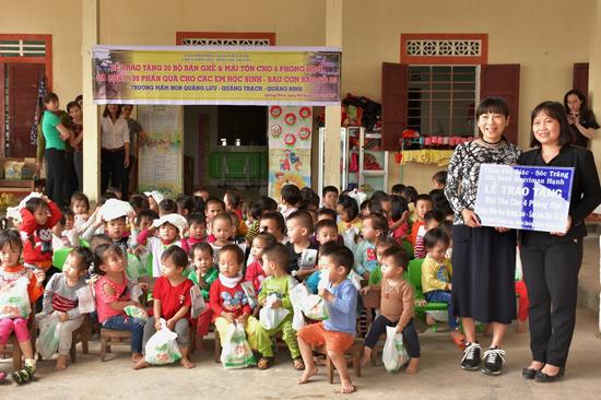Sóc Trăng: Chùa Phổ Giác cứu trợ Quảng Bình