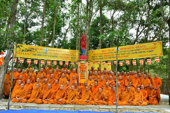 Bình Thuận: Khai mạc khóa tu truyền thống Khất Sĩ lần thứ 24