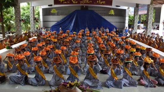 Sóc Trăng: chùa Phổ Giác tổ chức lễ vu lan PL năm 2561