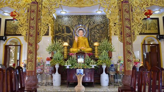 Bình Phước: Tịnh Xá Ngọc Chơn kỷ niệm 30 năm TT Giác Đính viên tịch