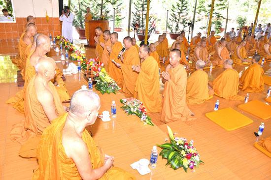 Bình Thuận: Lễ bế mạc khóa tu truyền thống Khất Sĩ lần thứ 24