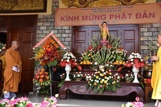 Bình Phước: Tịnh xá Ngọc Chơn tổ chức lễ Phật đản
