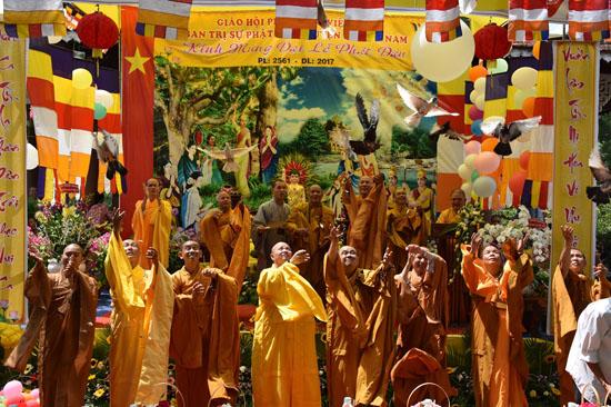 Bến Tre: Linh Quang Tự tổ chức Lễ Phật Đản PL. 2561 - 2017
