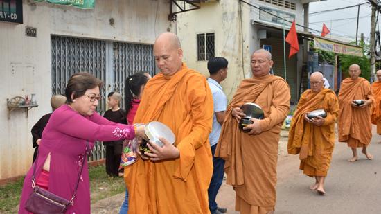 Bình Phước :TX Ngọc Chơn tổ chức đại lễ Tự Tứ Tăng, và tưởng nhớ 20 năm HT Thích Giác Đức viên tịch