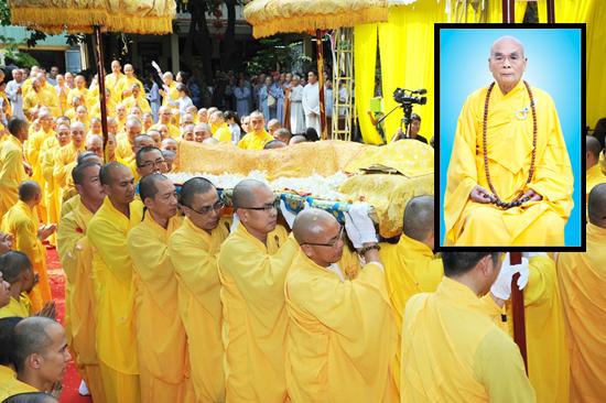 Tang Lễ Cố Hòa Thượng THÍCH QUANG ĐẠO - Công tác tổ chức Lễ Nhập Kim Quan