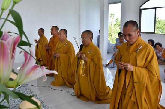 Sóc Trăng: Lễ an vị Phật, cầu an đầu năm tại chùa Phổ Giác