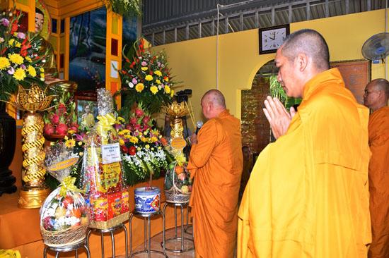Bình Phước: TX Ngọc Long tổ chức lễ giỗ 31 năm cố thượng tọa Giác Đính