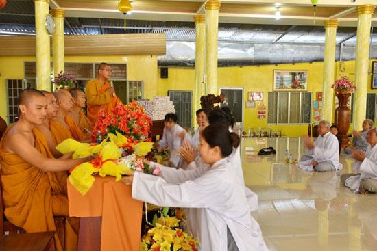 Tân Biên, Tây Ninh: Tổng kết khóa tu một ngày tịnh xá Trúc Lâm