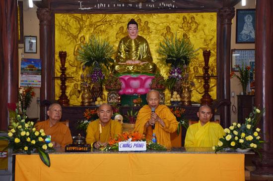 Bà Rịa – Vũng Tàu: Lễ bổ nhiệm trụ trì tịnh xá Quang Minh
