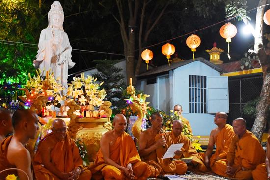 Bình chánh: Tịnh xá Đại Quang tổ chức lễ vía Quan Âm