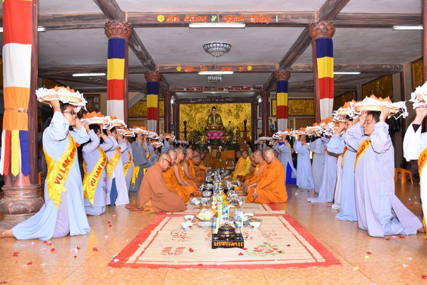 Bà Rịa – Vũng Tàu:  Tịnh xá Quang Minh tổ chức lễ vu lan Pl 2562