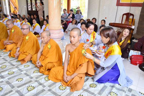 Bình chánh, Tịnh xá Đại Quang tổ chức Lễ Vu lan