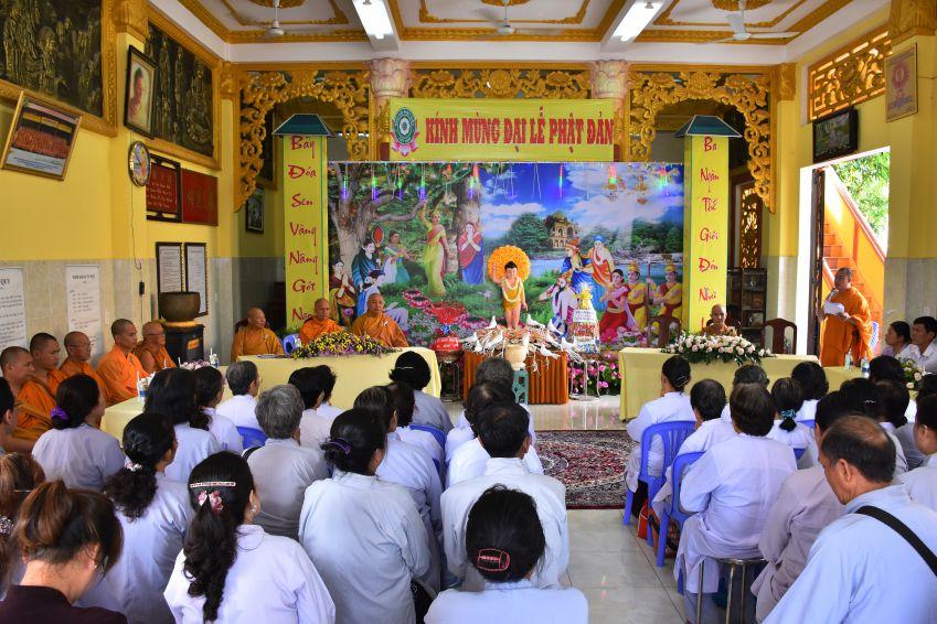 Bình chánh, Tịnh xá Đại Quang tổ chức lễ Phật đản PL 2562 – DL 2018