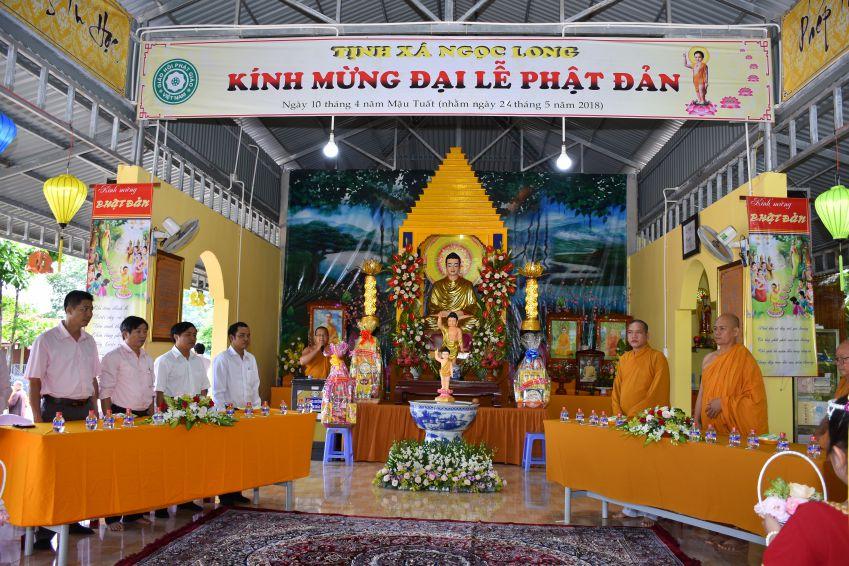 Thị xã Bình Long: Tịnh xá Ngọc Long tổ chức lễ Phật đản PL 2562 - 2018