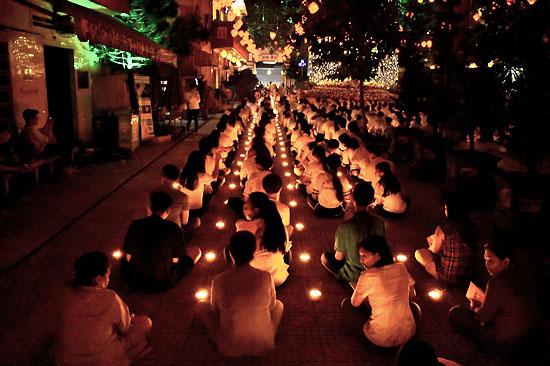 Sài Gòn: Tịnh xá Lộc Uyển tổ chức lễ vía Đức Phật A Di Đà