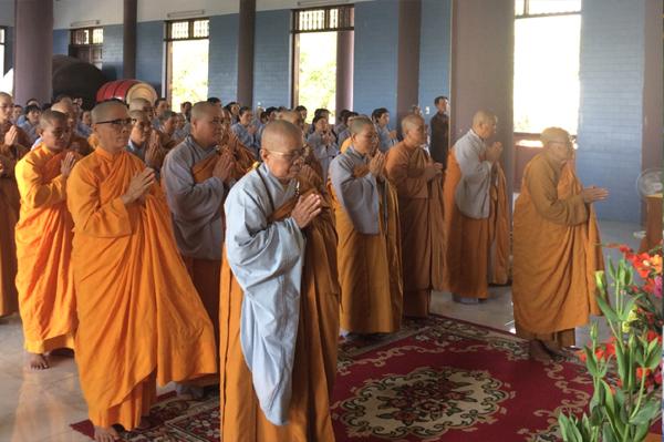 Ninh Thuận: Ban Trị sự tổ chức Lễ cầu nguyện Quốc thái dân an và Tổng Khai giảng các khóa tu đạo tràng năm Mậu Tuất.