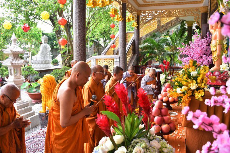Bình Phước: Tịnh xá Ngọc Chơn tổ chức lễ Phật đản PL. 2562- 2018