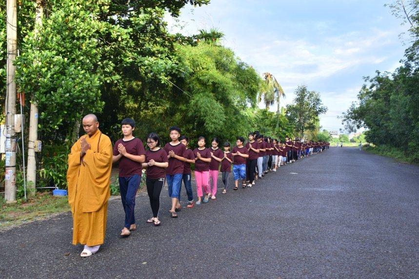 Bình Phước: Khóa tu mùa hè 2018