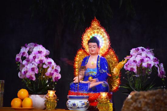 Sài Gòn: Các miền tịnh xá Giáo Đoàn 6 tổ chức cúng đàn tràng Dược Sư đầu năm cầu an