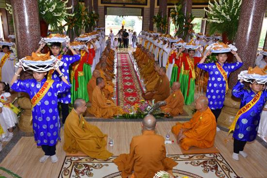 Giáo đoàn VI tổ chức lễ tự tứ Tăng, vu lan bồn PL 2562 và lễ tưởng niệm 21 năm Hòa thượng Giác Đức viên tịch