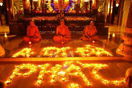 Bình Phước: Tịnh xá Ngọc Chơn, Ngọc Long tổ chức lễ vía Di Dà