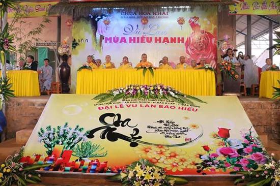 Chùm ảnh Đại lễ Vu lan bồn PL 2562 - 2018 tại Chùa Hoa Khai, Đăk R