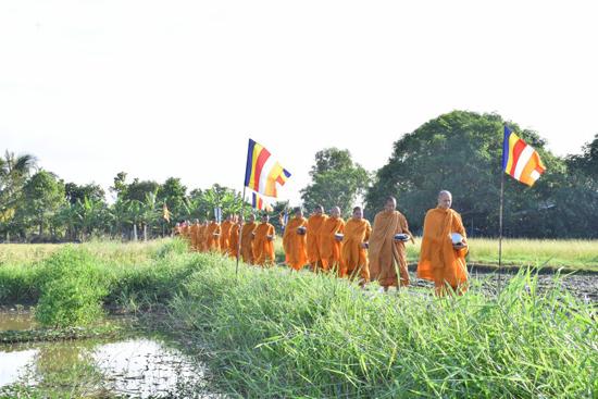 Các miền tịnh xá trực thuộc Giáo đoàn 6 tổ chức lễ Vu lan