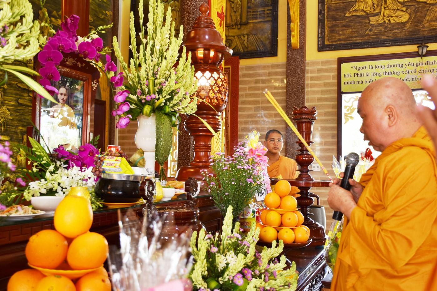 Tịnh xá Ngọc Chơn lễ giỗ 32 năm Cố Thượng tọa Giác Đính viên tịch